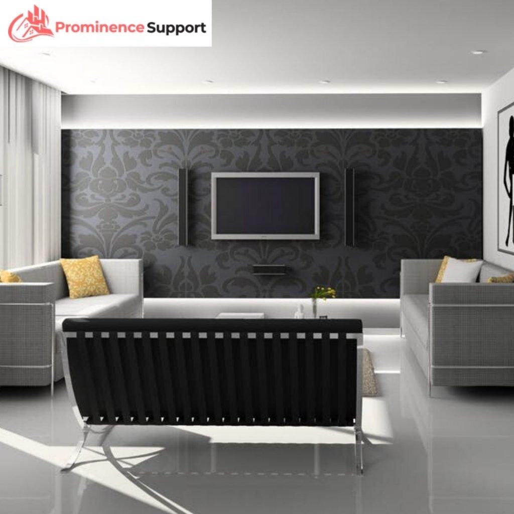 TV Insurance Extended Warranties - TV in modern room