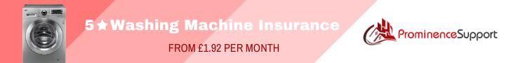 washing machine insurance